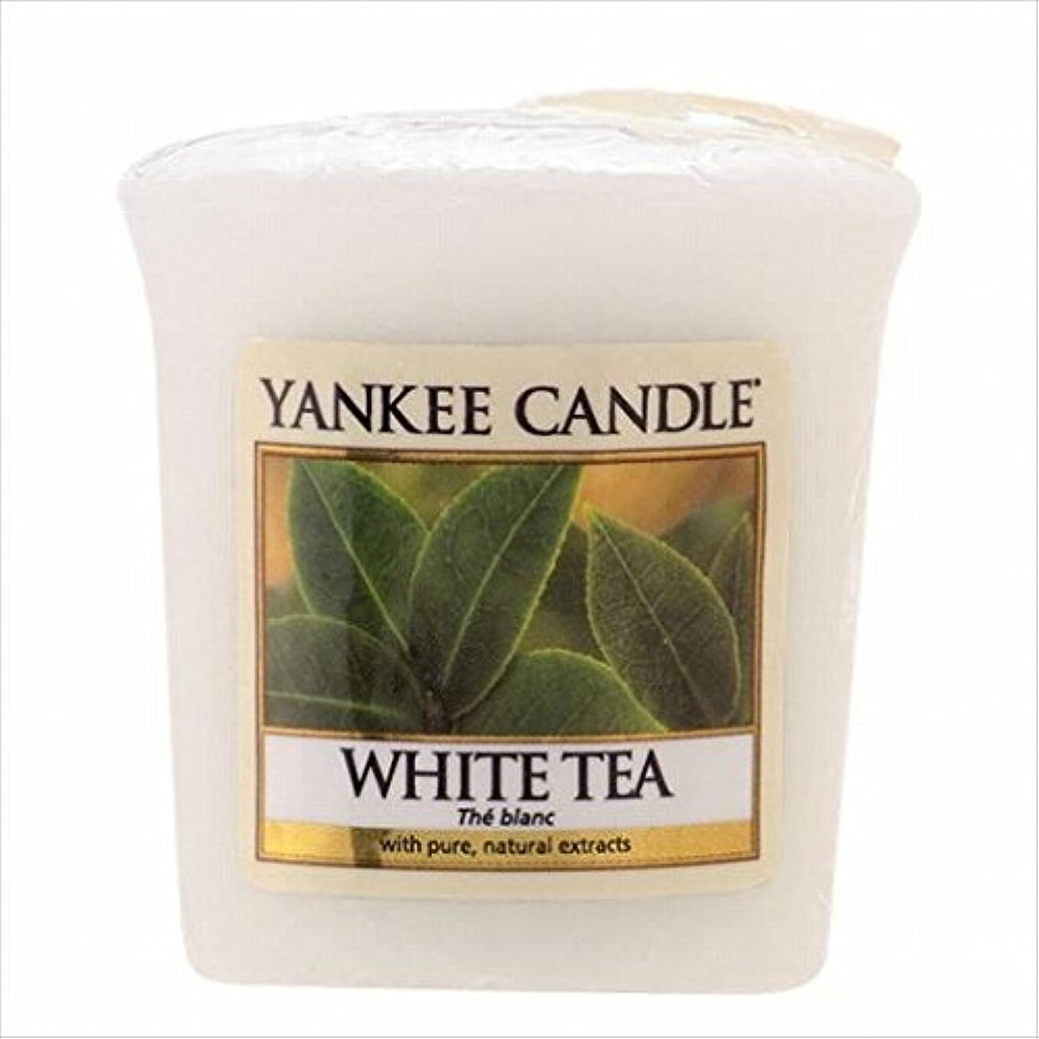 モーテルチューインガム複雑なヤンキーキャンドル(YANKEE CANDLE) YANKEE CANDLE サンプラー 「 ホワイトティー 」6個セット