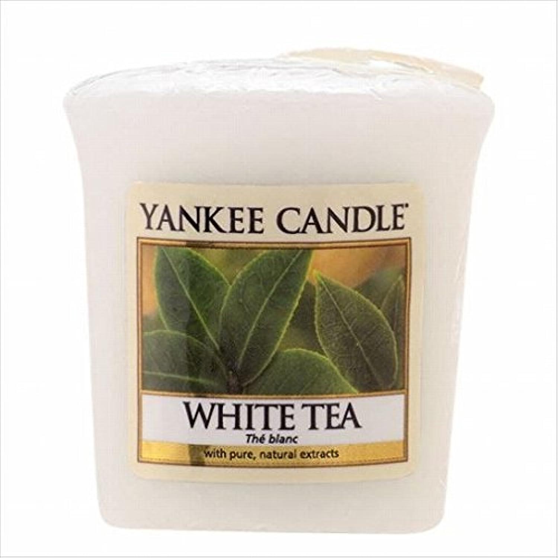 放牧する美徳病気のヤンキーキャンドル(YANKEE CANDLE) YANKEE CANDLE サンプラー 「 ホワイトティー 」6個セット