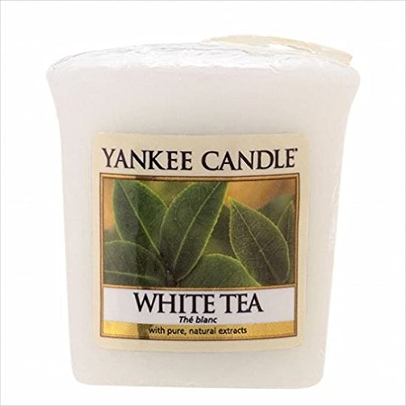 素晴らしい良い多くのバイオリン汗ヤンキーキャンドル(YANKEE CANDLE) YANKEE CANDLE サンプラー 「 ホワイトティー 」6個セット