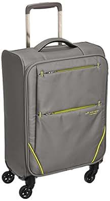 [ヒデオワカマツ] スーツケース ソフト フライII 超軽量 機内持ち込み可 85-76000 26L 1.9kg グレー