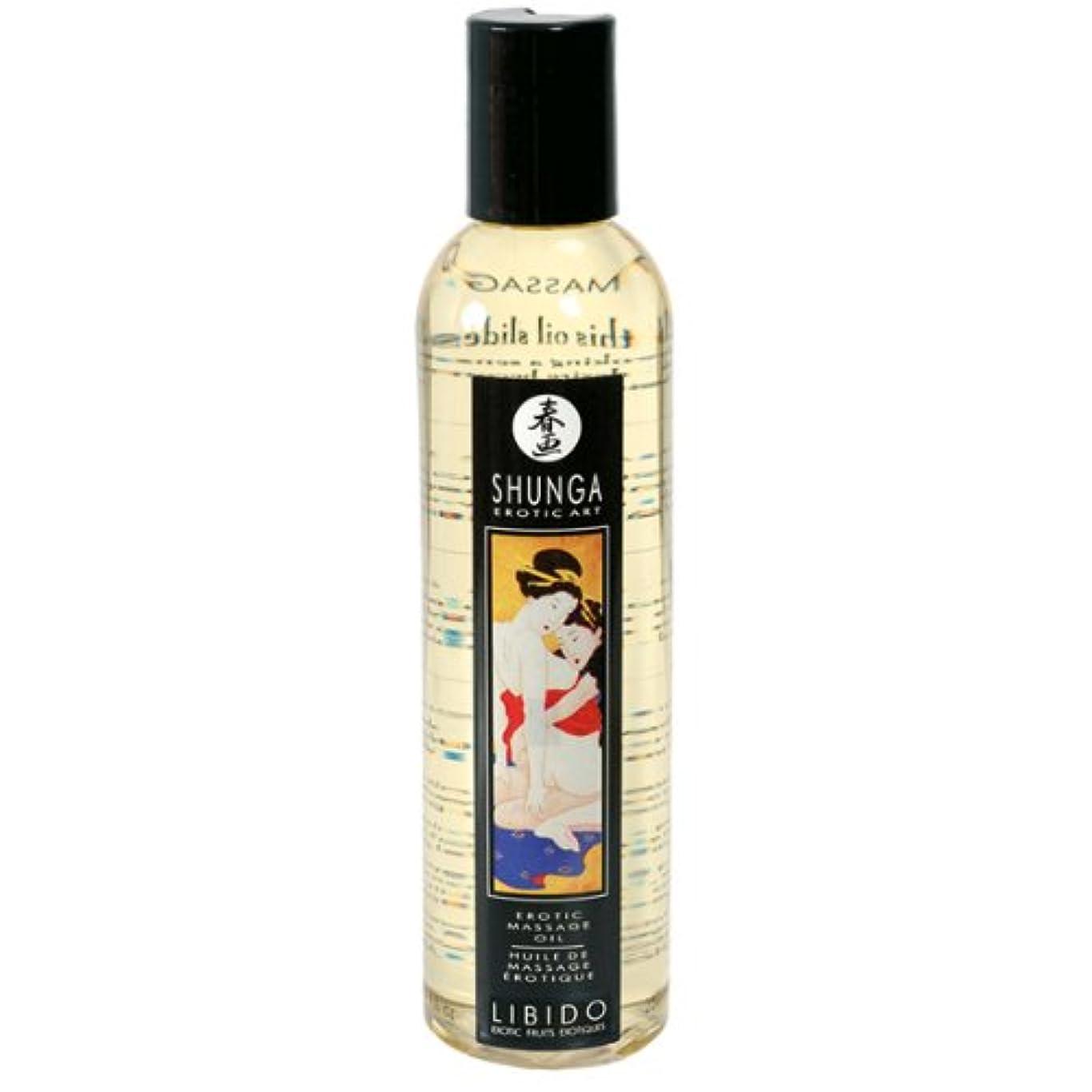 ゆるいフロー横たわるErotic Massage Oil - Libido (Exotic Fruits) by Shunga
