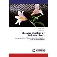 Micropropagation of Bulbous plants: Micropropagation of bulbous plants by using plant tissue culture techniques【洋書】 [並行輸入品]