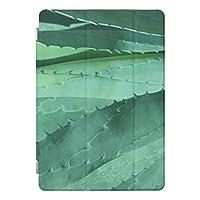 アロエ-マクロファインアートの写真 Apple iPad Air 2 ケース アップル アイパッド エアー2 カバー iPad air2,iPad 6 タブレットケース 高級PUレザー ビジネス 横開