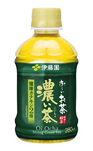 伊藤園 おーいお茶 濃い茶 280ml×24本