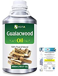Guaiacwood (Bulnesia sarmientoi) 100% Pure Natural Essential Oil 5000ml/169 fl.oz.