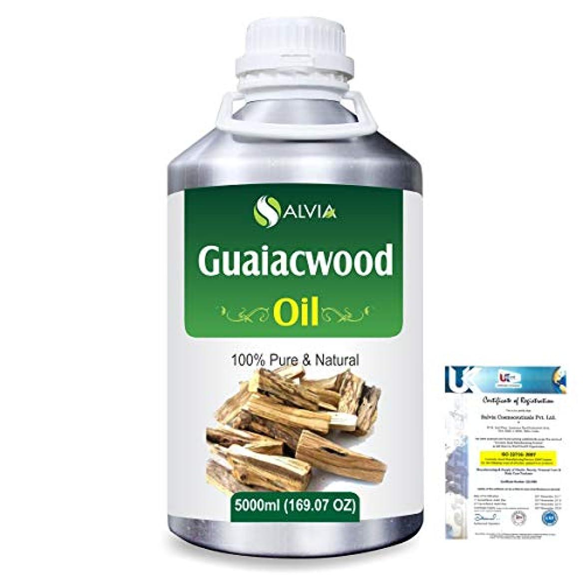 税金パイロット凝視Guaiacwood (Bulnesia sarmientoi) 100% Pure Natural Essential Oil 5000ml/169 fl.oz.