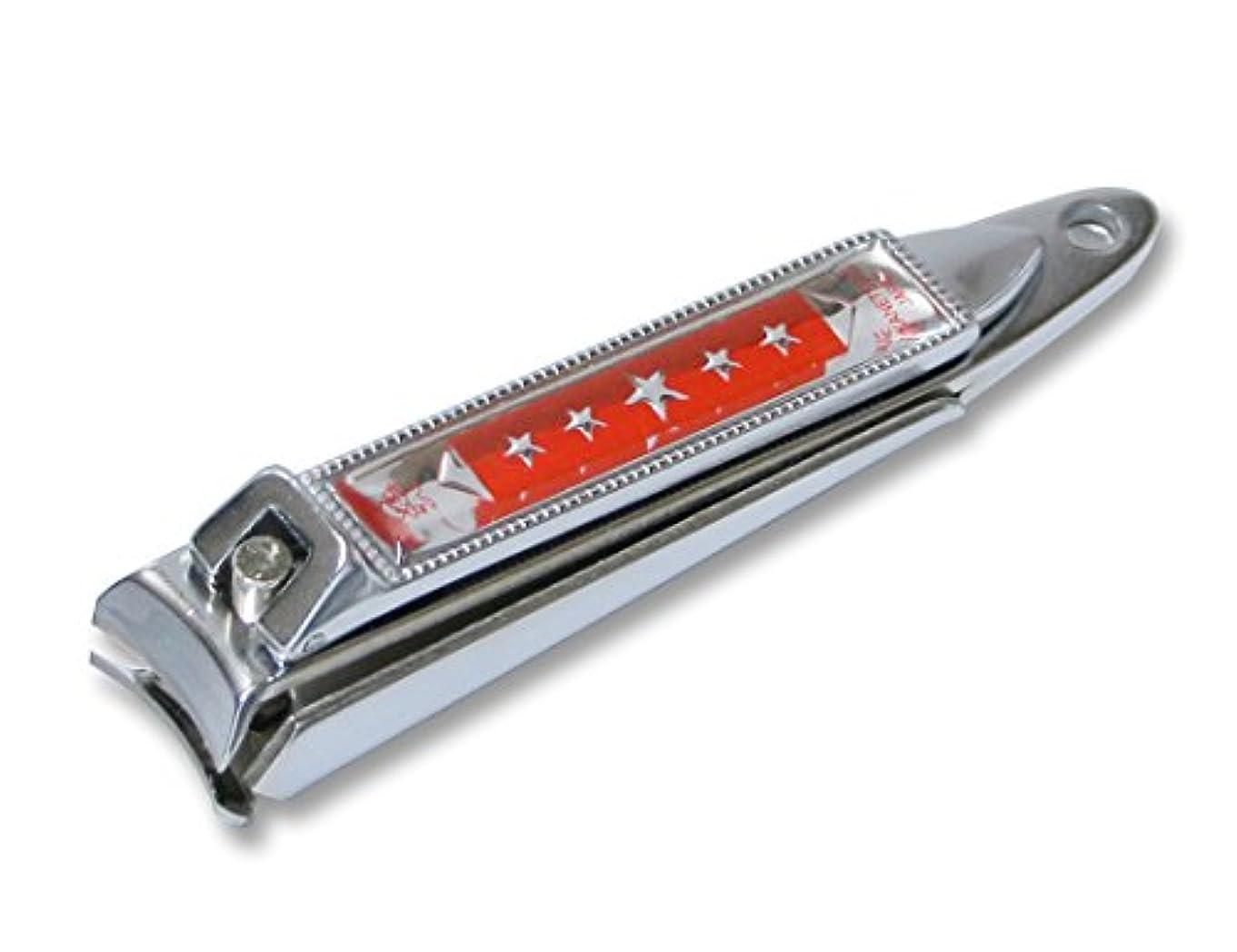 傾く教育エキサイティングKC-051RD 関の刃物 関兼常 チラーヌ爪切 中 赤