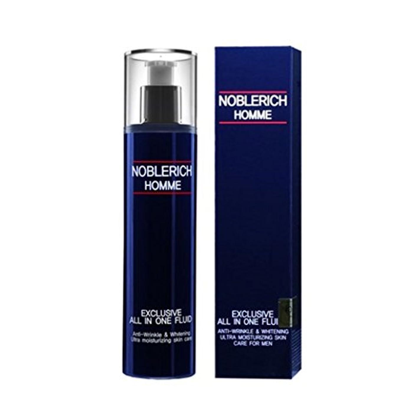 主張する量系統的ノブリチオムエクスクルーシブオールインワン?プルルイドゥ120mlメンズコスメ、Noblerich Homme Exclusive All In One Fluid 120ml Men's Cosmetic [並行輸入品]