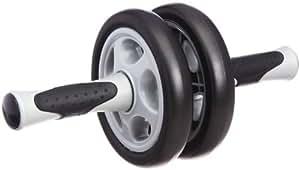 K&G ダブルエクササイズウィル ブラック/グレー BX005 腹筋ローラー