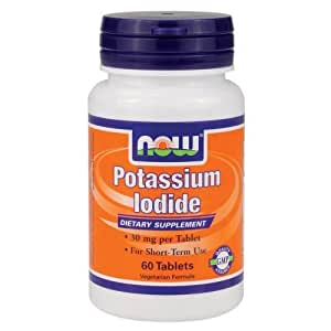 Now Foods ナウフーズ ヨウ素 60錠入り Potassium Iodide 60 Tablets (海外直送品)