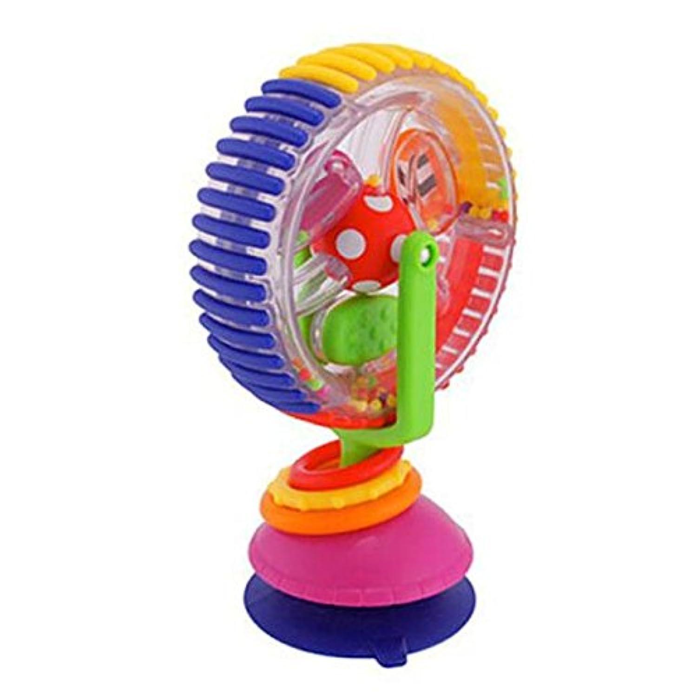 教育玩具、baomabaoベビーSucker Around the回転風車Bellカート椅子