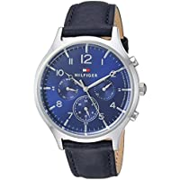 Tommy Hilfiger Men's 1781874 Year Round Analog Quartz Silver Watch
