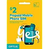Optus $2 Prepaid Voice Starter Kit