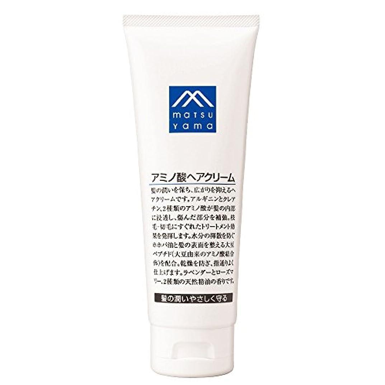 白い謎プレゼンテーションM-mark アミノ酸ヘアクリーム