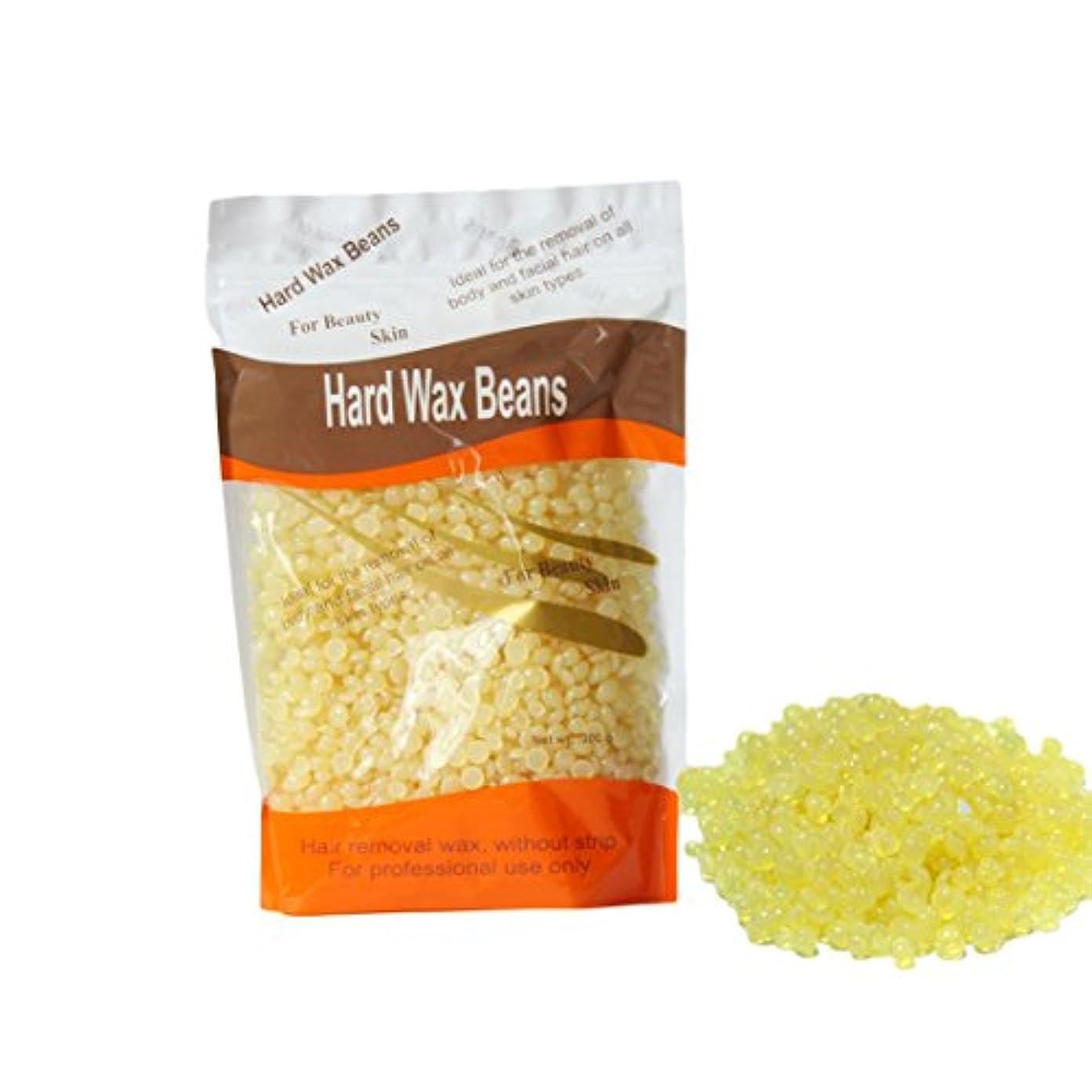 起訴する汚染流星脱毛ビーン ハードワックスペレット 脱毛スポンジ 毛除き 肌に優しい 300g 蜂蜜の香り