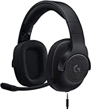 Logicool G ゲーミングヘッドセット 有線 G433BK 高音質 7.1ch Dolby 3.5mm usb 軽量 ノイズキャンセリング 単一性 著脫式マイク PS5 PS4 PC Switch Xbox スマホ