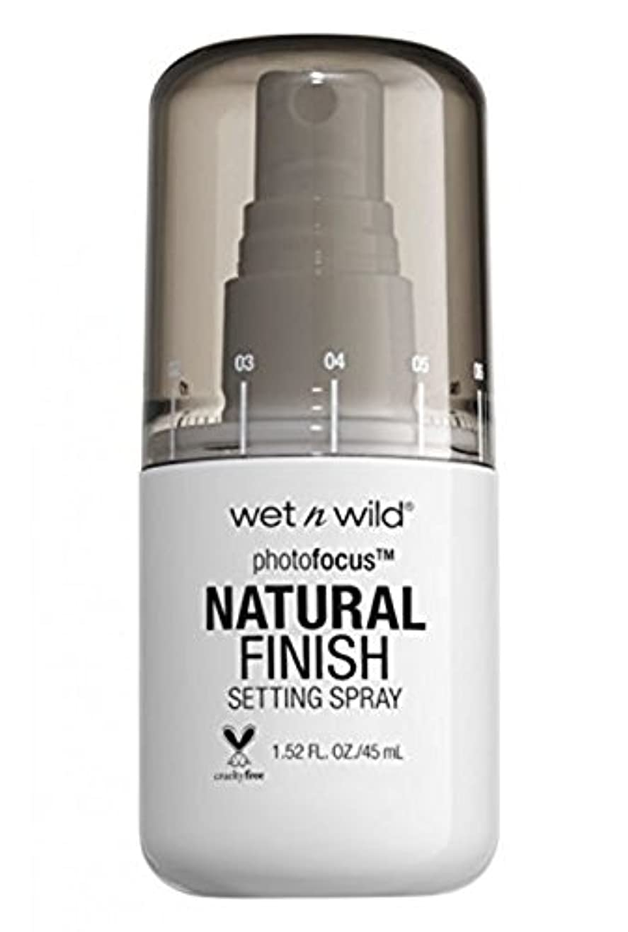 放棄シミュレートする拒否WET N WILD Photo Focus Setting Spray (並行輸入品)