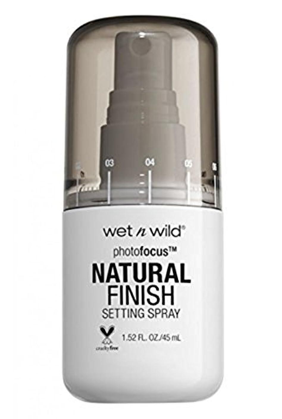無関心言い聞かせる自宅でWET N WILD Photo Focus Setting Spray (並行輸入品)