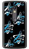 SECOND SKIN MHAK 「SPACER」 ブラック×ブルー (クリア) / for Moto X Play XT1562/MVNOスマホ(SIMフリー端末) MMRXPY-PCCL-298-Y368 MMRXPY-PCCL-298-Y368