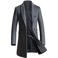 (アイラブコス)iLoveCos JP ロングコート チェスターコート メンズ 紳士 防寒 ウール製アウター