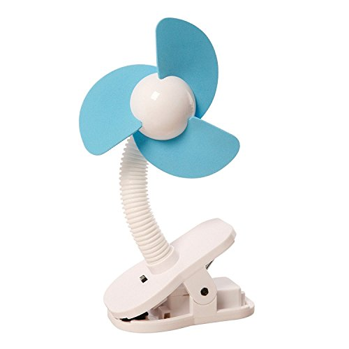 dreambaby ドリームベビー Clip-on Fan Silver with Black Foam ベビーカー扇風機 クリップオン ファン Whi...