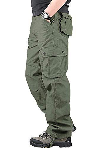 メンズ カーゴパンツ 作業着 ズボン ゆったり ワークパンツ 大きいサイズ パンツ