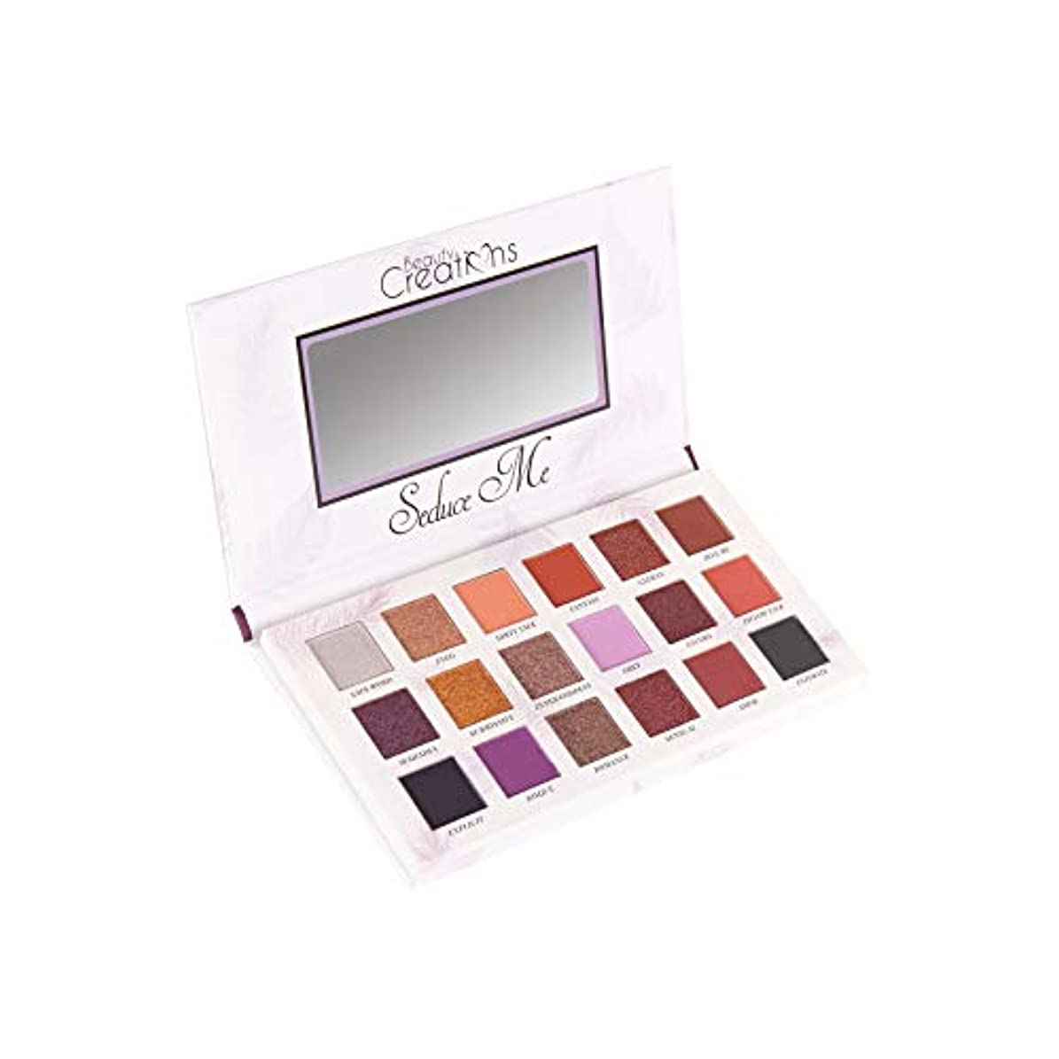 はねかけるショット留め金(3 Pack) BEAUTY CREATIONS Seduce Me Eyeshadow Palette (並行輸入品)