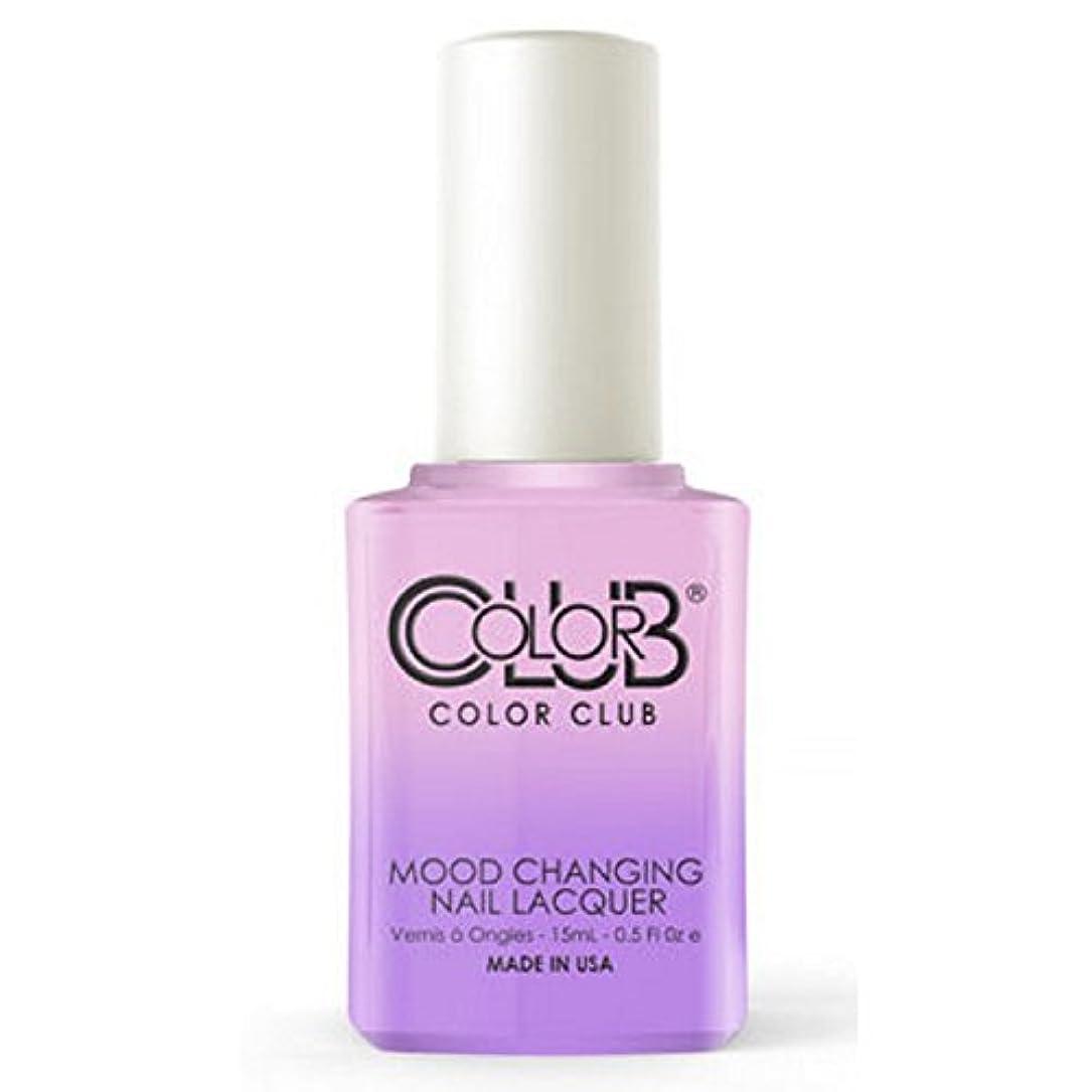 オンス繁栄する粘土Color Club Mood Changing Nail Lacquer - Go with the Flow- 15 mL / 0.5 fl oz