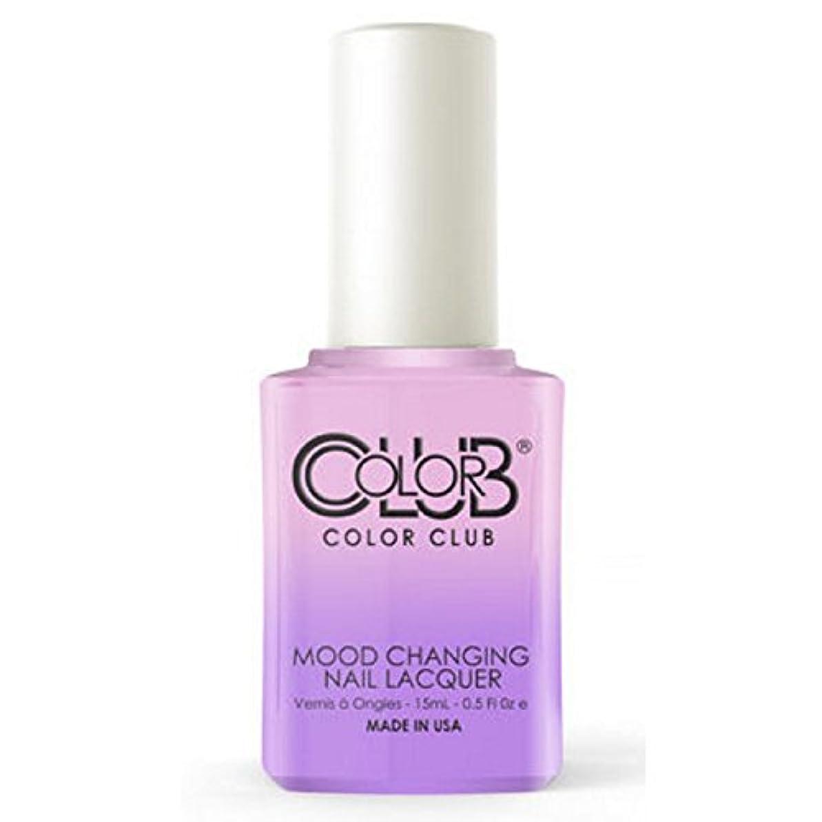 ヒゲクジラも蘇生するColor Club Mood Changing Nail Lacquer - Go with the Flow- 15 mL / 0.5 fl oz
