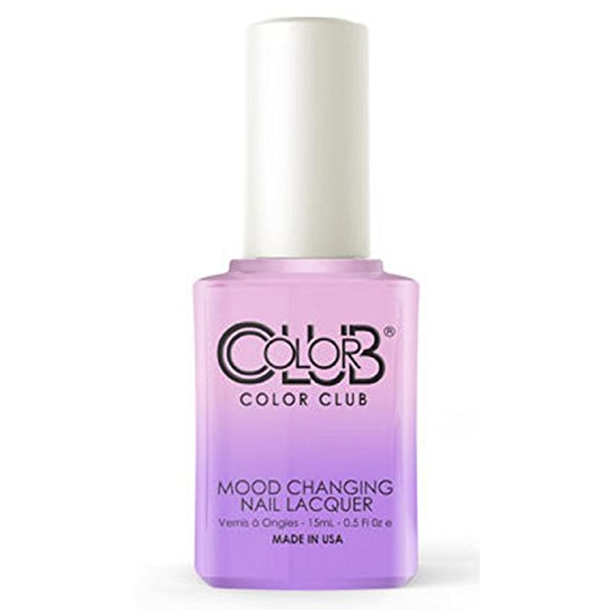 ウィンクネコアナウンサーColor Club Mood Changing Nail Lacquer - Go with the Flow- 15 mL / 0.5 fl oz