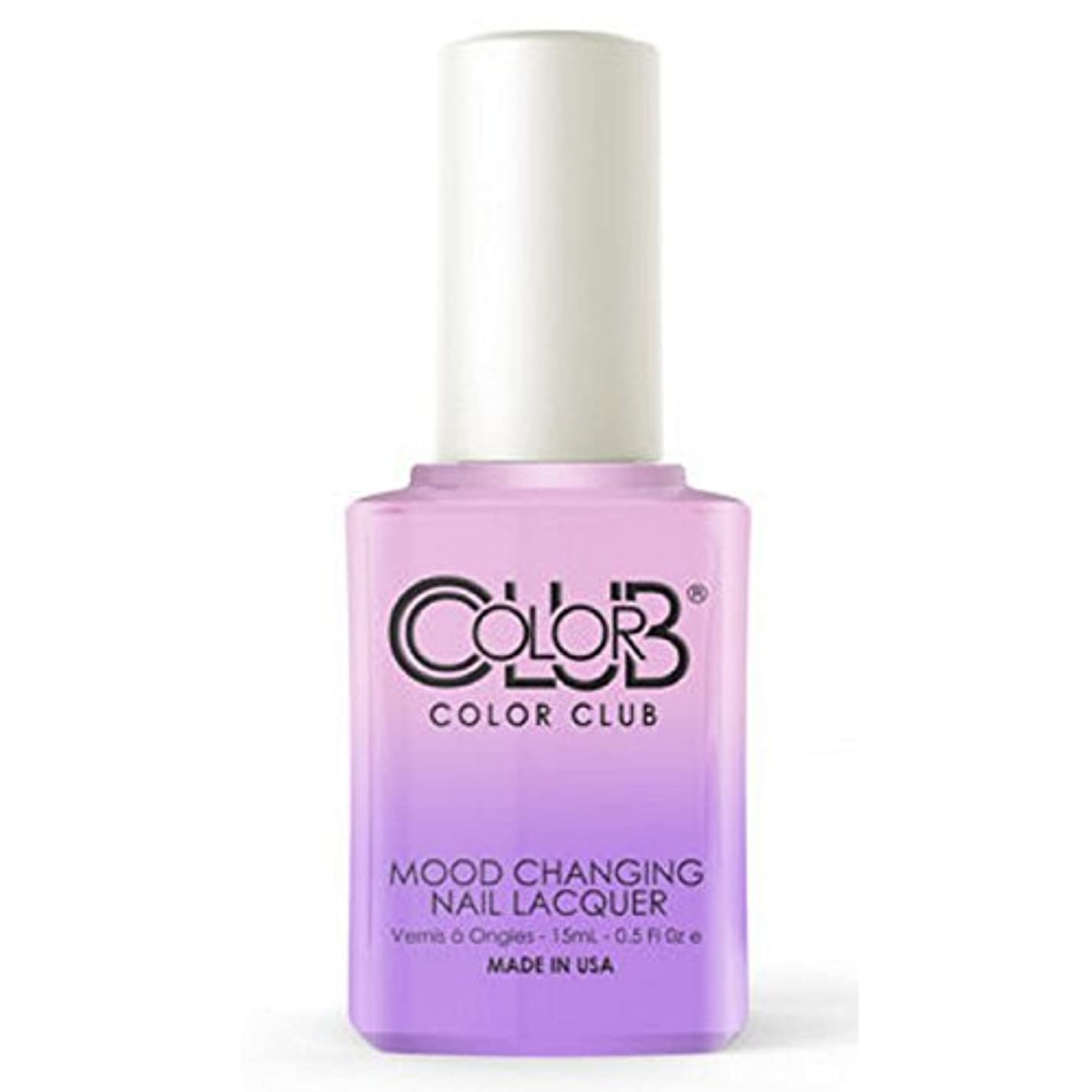 マッサージ突撃心理的にColor Club Mood Changing Nail Lacquer - Go with the Flow- 15 mL / 0.5 fl oz