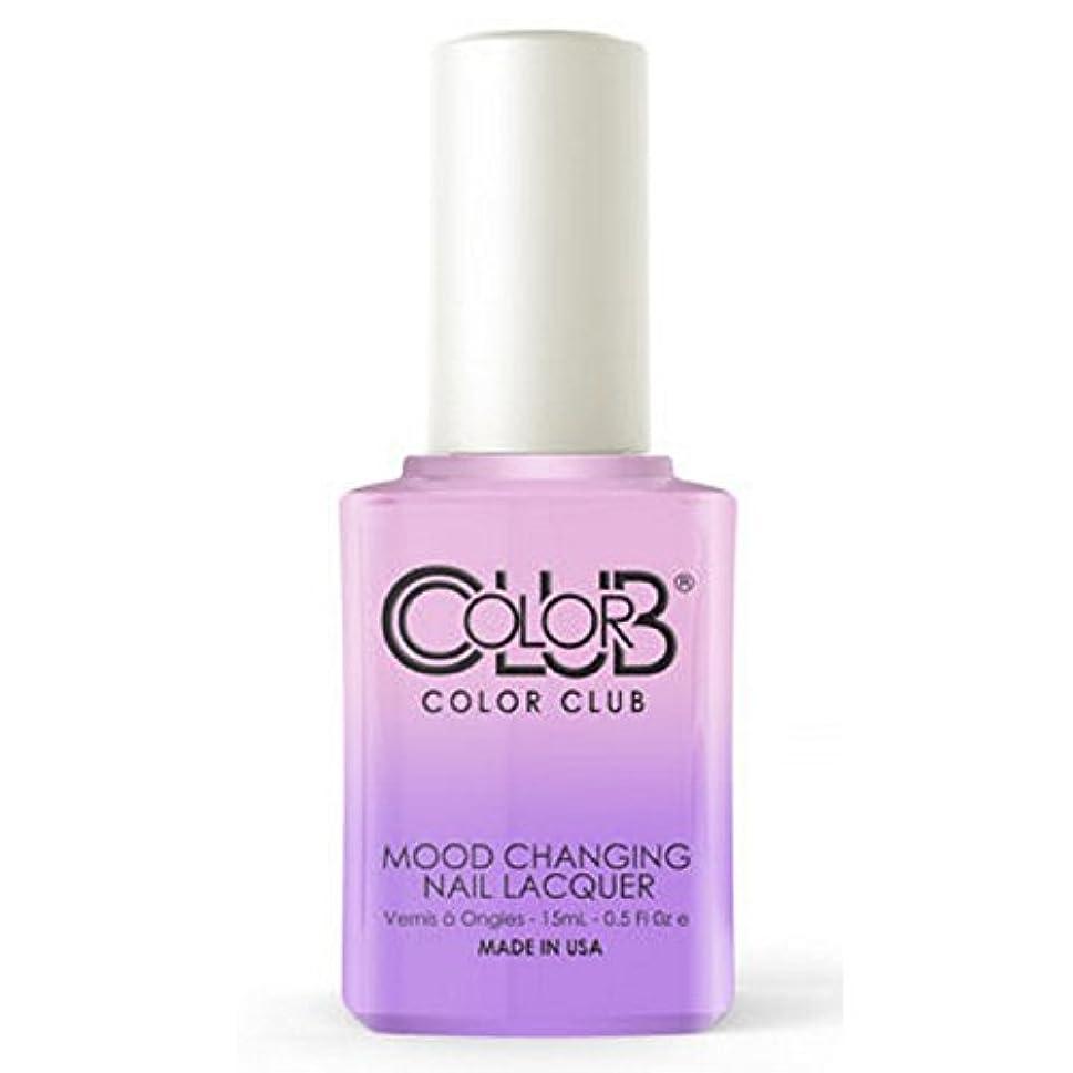 悪夢前提条件頭痛Color Club Mood Changing Nail Lacquer - Go with the Flow- 15 mL / 0.5 fl oz