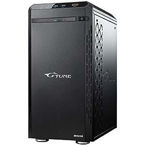 mouse ゲーミング デスクトップパソコン G-Tune NM-S711SHR7SZI/Corei7 9700/2070Super/16GB/256GB/1TB/Win10