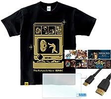 """SNK Dot Hero's T """"Haou""""+NEOGEO mini HDMIケーブル (2M) + HD スクリーンプロテクター (2個入り) + キャラクターステッカー (4枚入り)"""