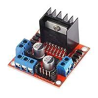 Blackfell Arduino L298Nモータードライバーボードモジュール用デュアルHブリッジステッピングモータードライブコントローラーボードモジュール