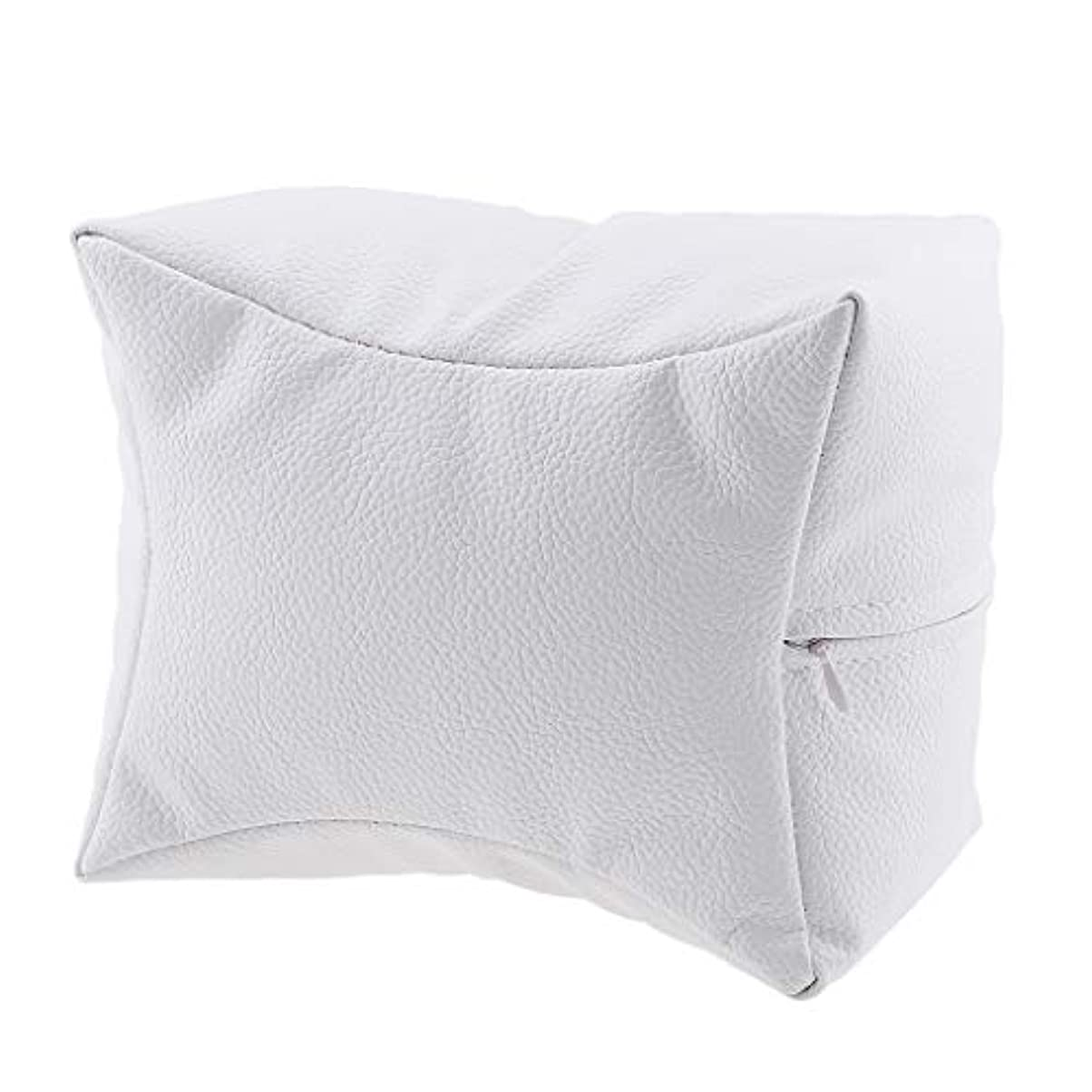 入札絶壁情緒的ネイルハンドピロー プロ ネイルサロン 手枕 レストピロー ネイルケア 4色選べ - 白