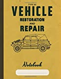 Type 82 Vehicle Restoration: Appreciation journal and repair notebook