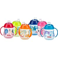 Nuby 1997413 no-spill clik-it 2-handle Trainer Cup – ケースof 48