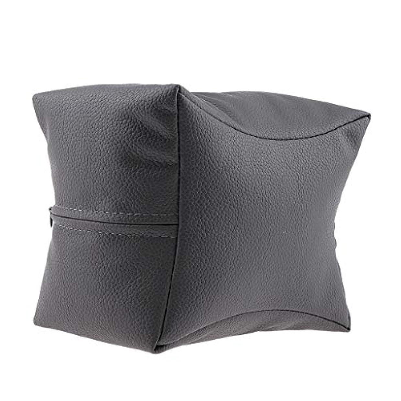 進化するテクトニック分析的なネイルアート 手枕 ハンドピロー レストピロー ハンドクッション ネイルサロン 4色選べ - グレー