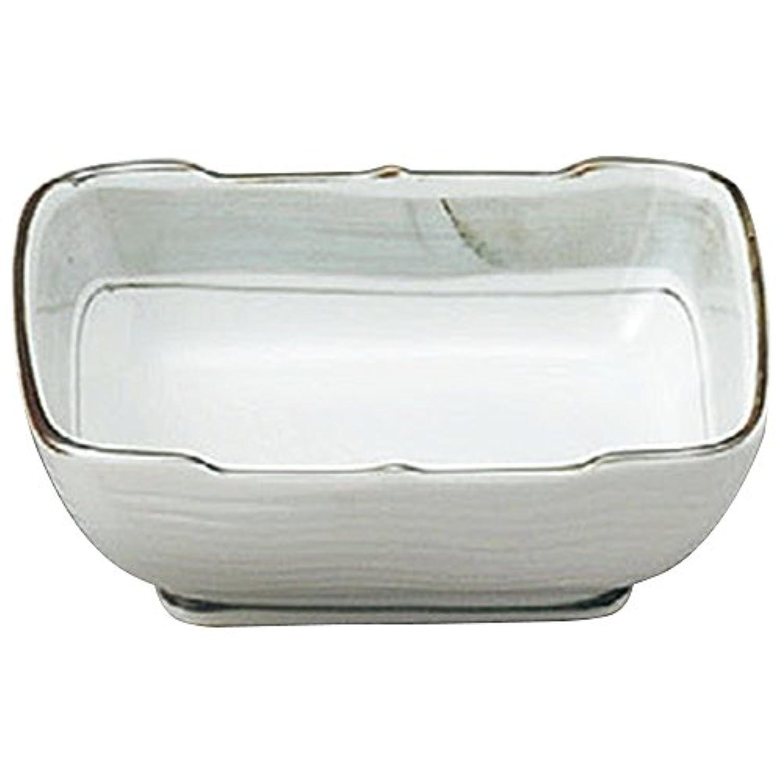 山下工芸(Yamasita craft) 淡彩ライン 長角刺身鉢 15.6×13.1×5.4cm 11509250