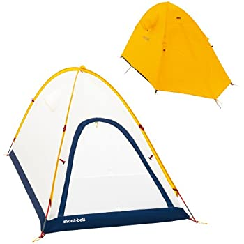 モンベル(mont-bell) テント ステラリッジテント2型[2人用] サンライトイエロー SUYL 1122465
