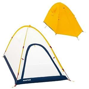 モンベル(mont-bell) テント ステラリッジテント1型[1~2人用] サンライトイエロー SUYL 1122464