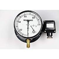 マイクロスイッチ接点付圧力計(150Φ) JM21-141(L)×0.2MPa