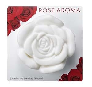 ローズアロマ The Rose ビューティー・ソープ 1コ 白色 (オールドローズの香り)