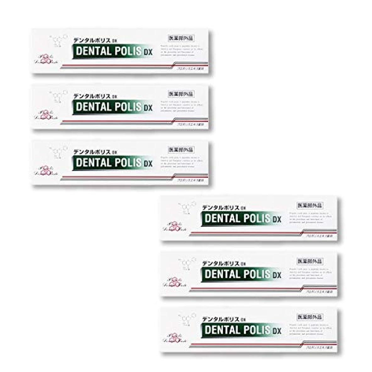 少ないしないでください修正デンタルポリスDX 80g お得な5個+1個セット 【医薬部外品】