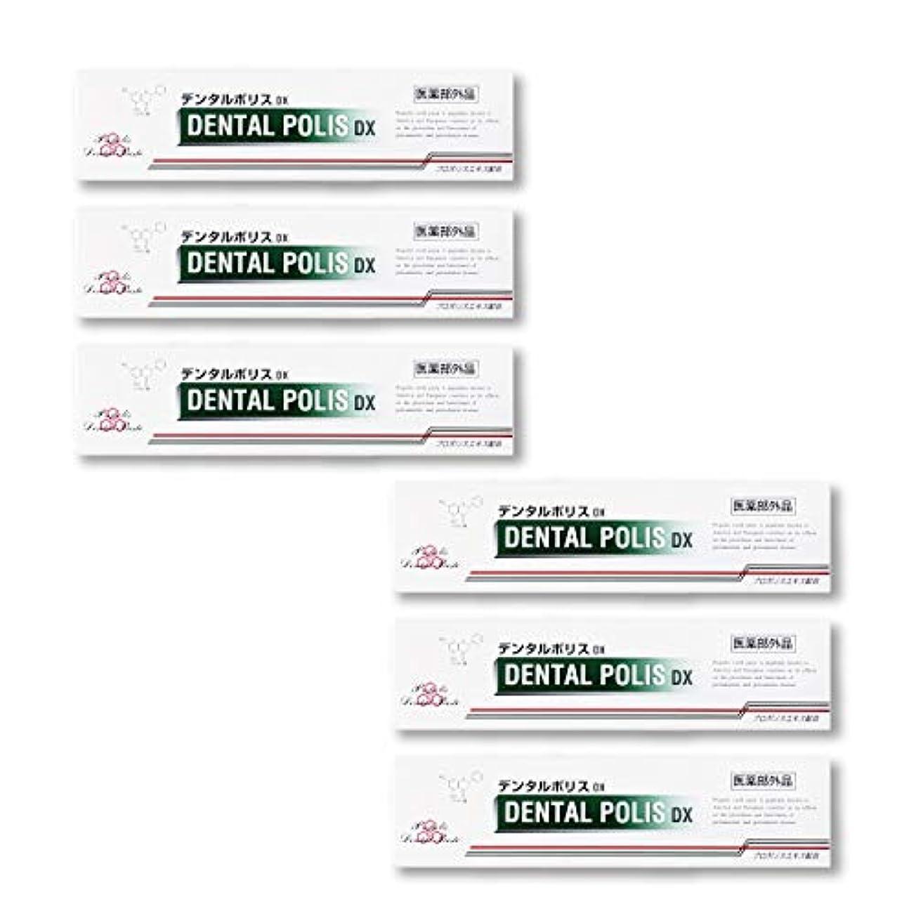 賭け完全に乾く繁雑デンタルポリスDX 80g お得な5個+1個セット 【医薬部外品】