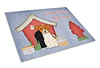 Carolines Treasures BB2862LCB Dog House Collection Jack Russell Terrier Glass Cutting Board, Large