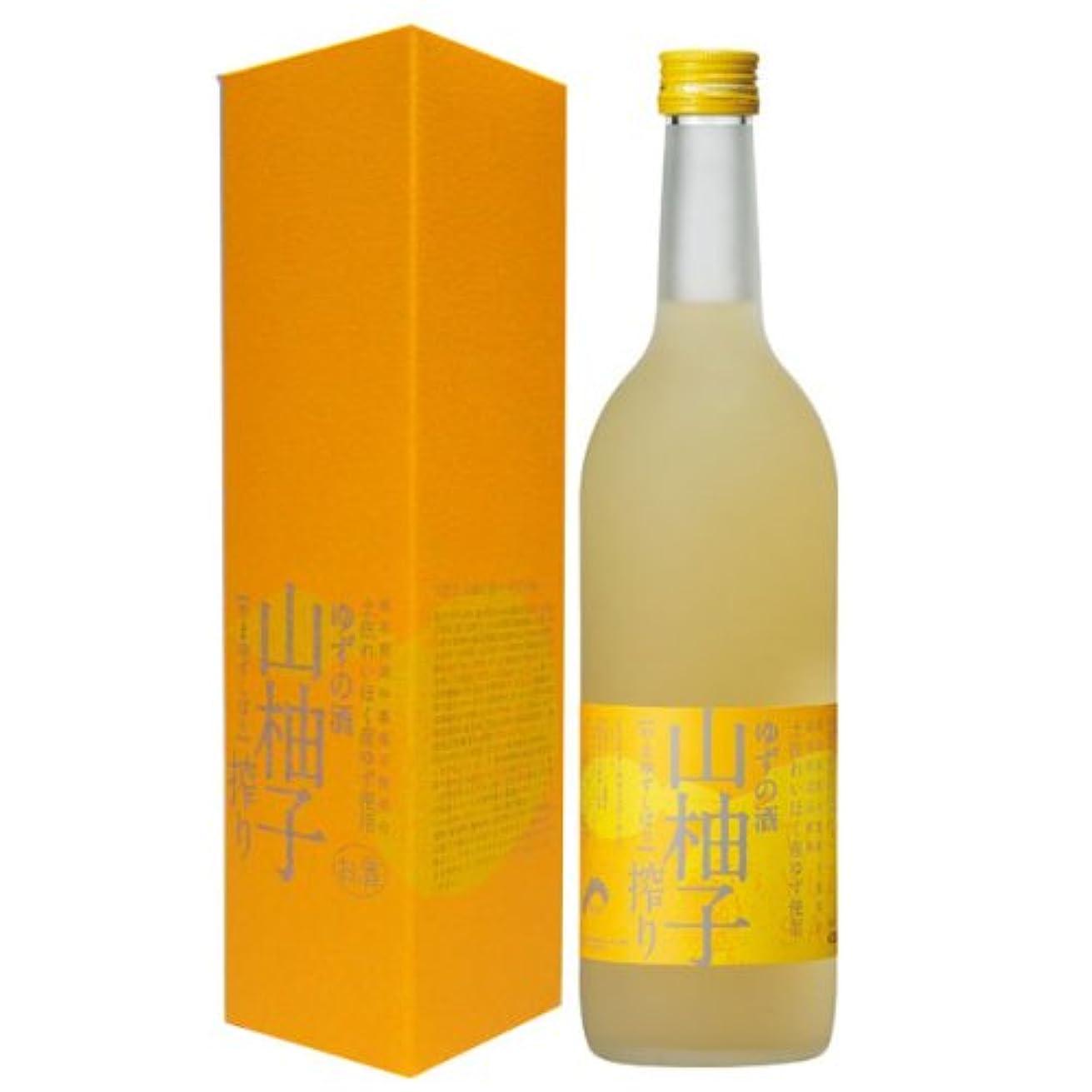 落ち着く週間直面する高知県 ゆずの酒 山柚子搾り720ml