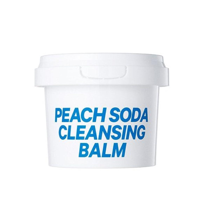 不完全輸送仕出します16brand Sixteen Peach Soda Cleansing Balm 110g/16ブランド シックスティーン ピーチ ソーダ クレンジング バーム 110g [並行輸入品]