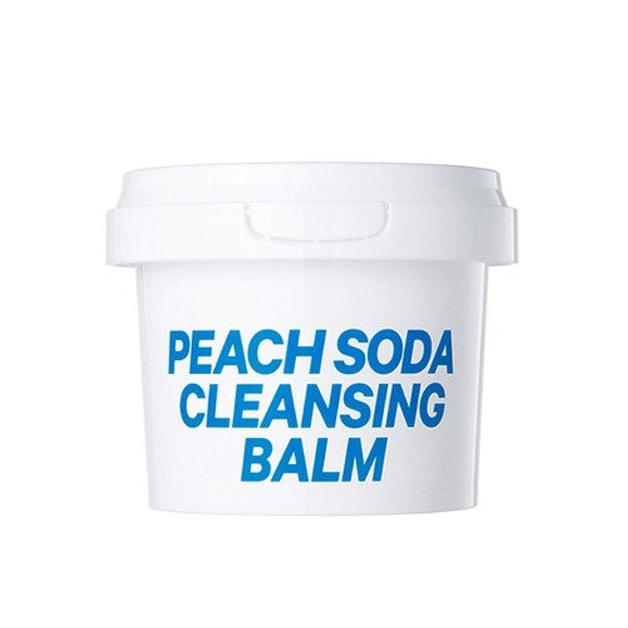 質量タイル社会主義16brand Sixteen Peach Soda Cleansing Balm 110g/16ブランド シックスティーン ピーチ ソーダ クレンジング バーム 110g [並行輸入品]